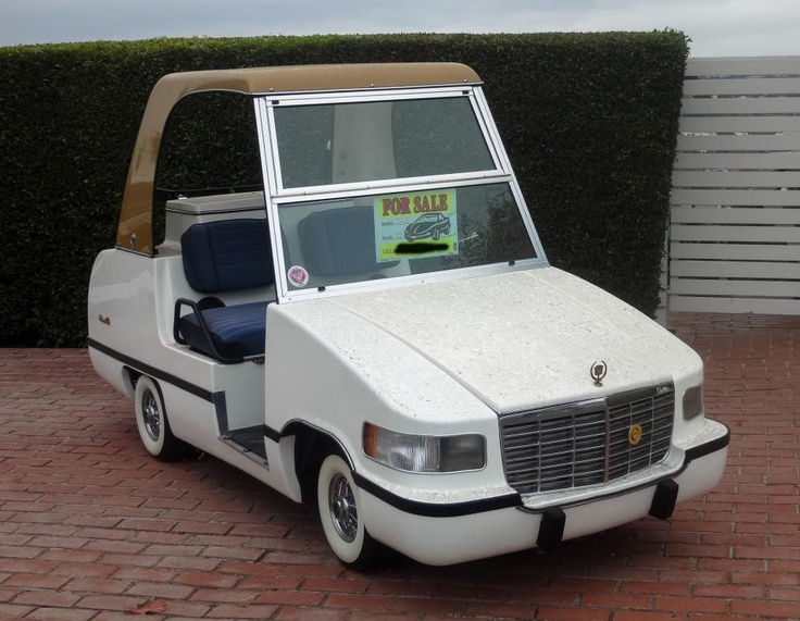 The Cadillac Of Golf Carts Lol Pinterest
