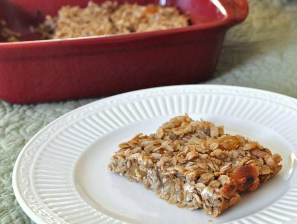 Oatmeal Banana Breakfast Bars - Eventhough these are called BREAKFAST ...