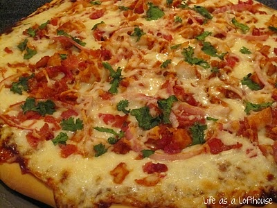 A new pizza we can make on our Pampered Chef stone!