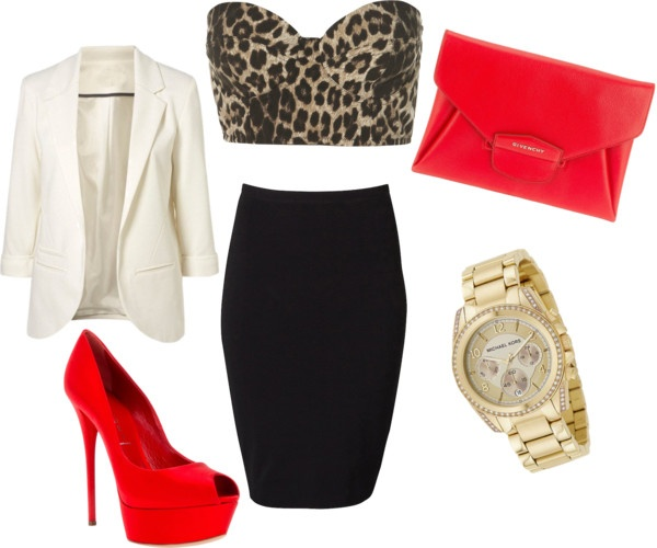 """Leopard and Hot Spice"" by aj-price on Polyvore"