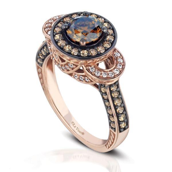 Le Vian Chocolate Diamond Ring  jewelry  Pinterest