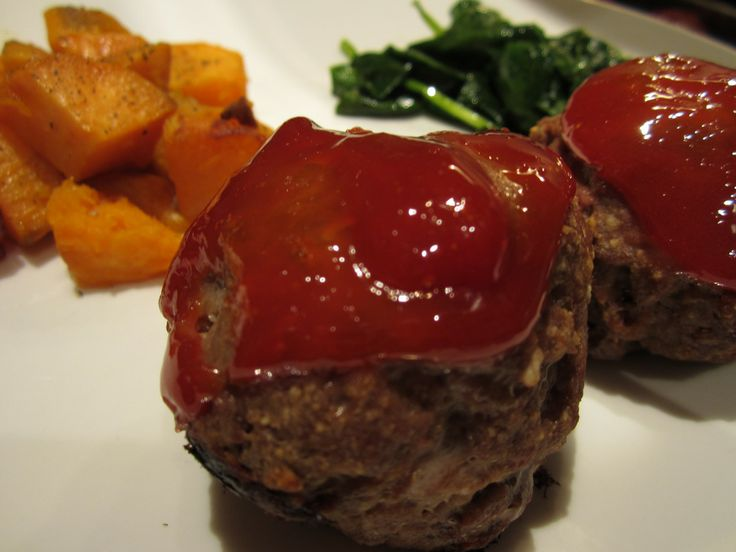 Gluten free meatloaf, two meals within!