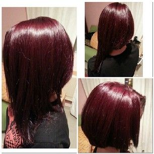 Chocolate Covered Cherry Hair Color  Dark Brown Hairs