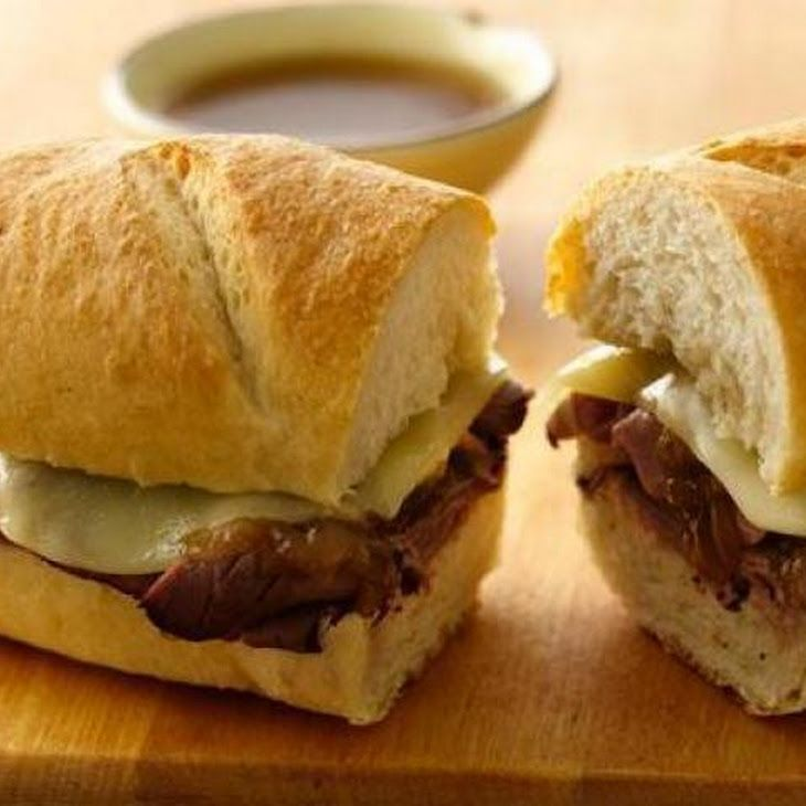 Easy French Dip Sandwiches Recipe | yummy to my tummy | Pinterest