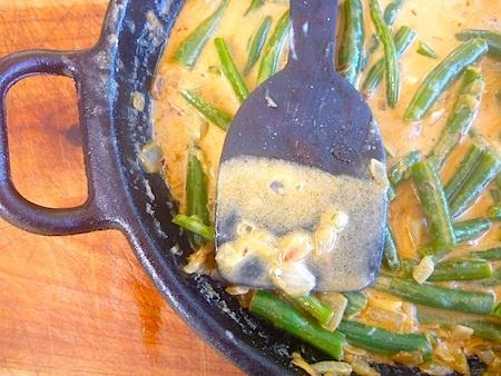 ... green beans feisty green beans julie sahni s bihari green beans masala