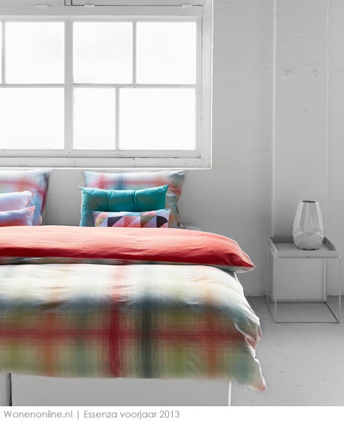 ... gaan kleurig het voorjaar tegemoet! #slaapkamer #woontrends #interieur
