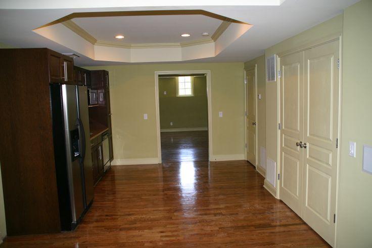 Basement oak hardwood flooring basements pinterest for Hardwood floors in basement