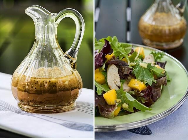 Orange Ginger Salad Dressing | food | Pinterest