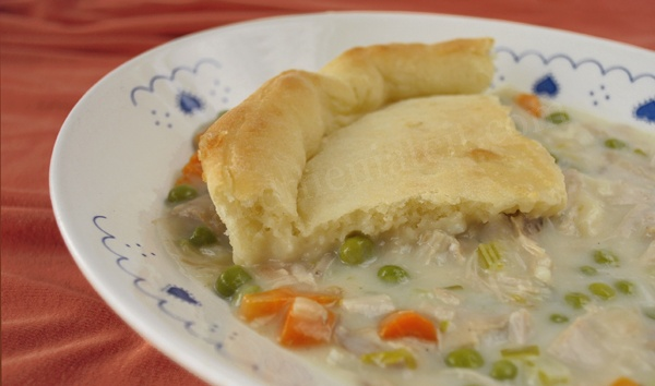and then I ate it!: Turkey Pot Pie with Crescent Roll Crust