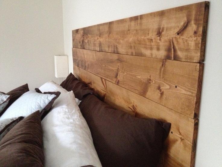 New cheap homemade headboard diy interior decor pinterest for Buy cheap headboard