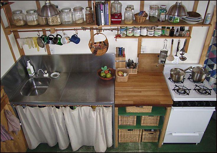 Small Cabin Kitchen Cabin Dreams Pinterest