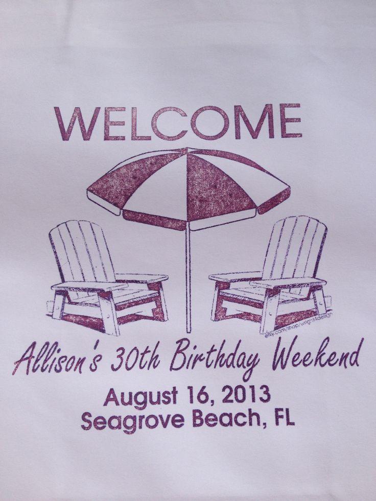Florida Wedding Gift Bag Ideas : diyparty # birthdayidea # weddingfavor # giftbag ...