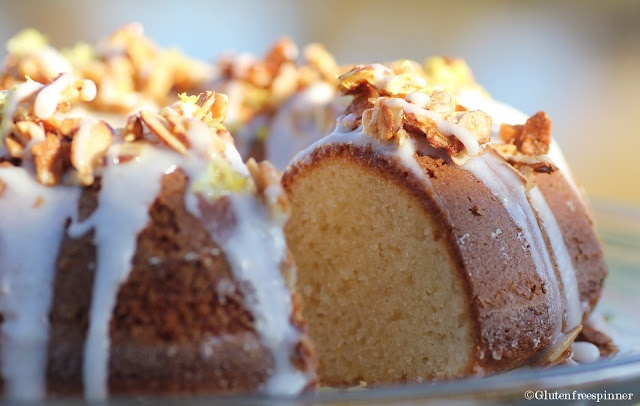 Gluten Free: Almond Lemon Bundt Cake. Made this and it was terrific.