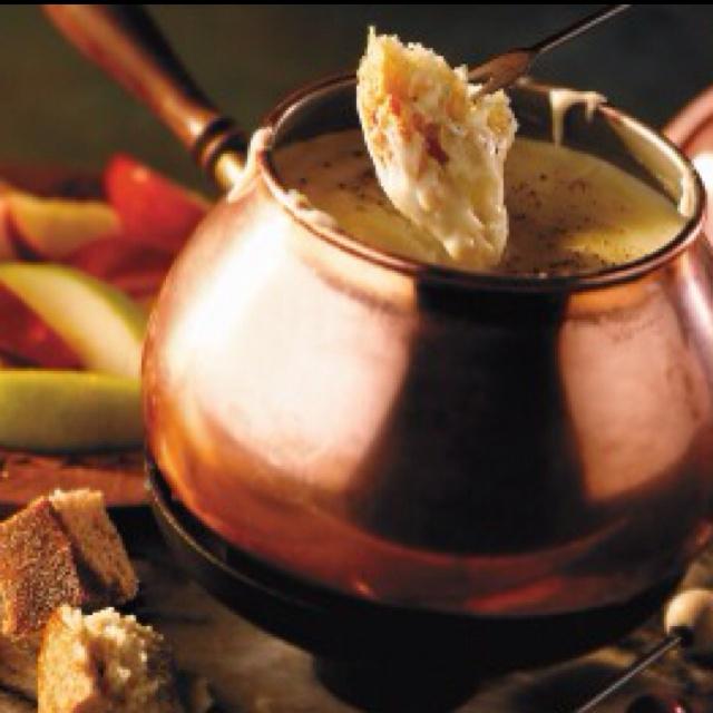Authentic Swiss Fondue Recipe — Dishmaps