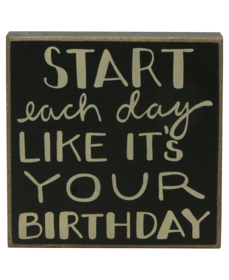 Inspirational vintage wall signs birthdays quote for Inspirational signs for office