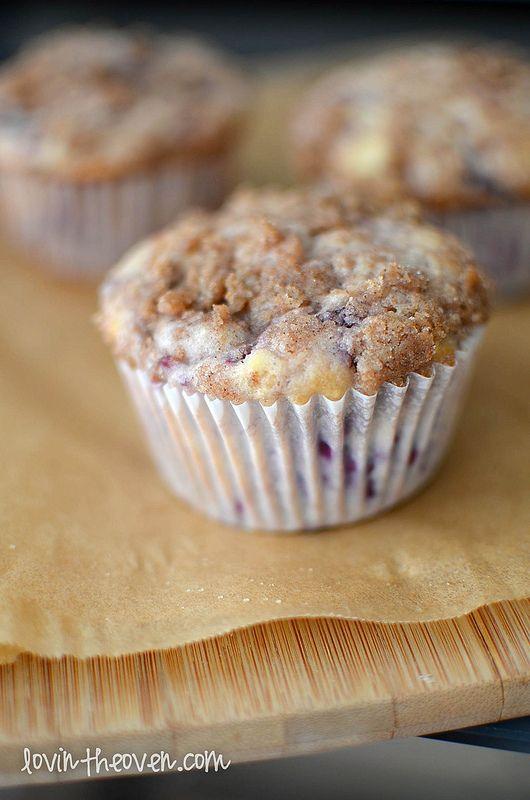 Buttermilk Blackberry Crumble Muffins | Recipe