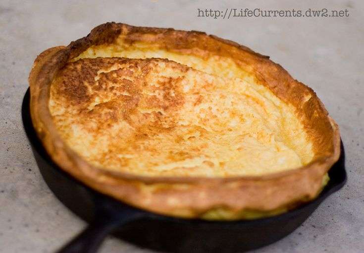 German Pancake | Life Currents http://lifecurrents.dw2.net