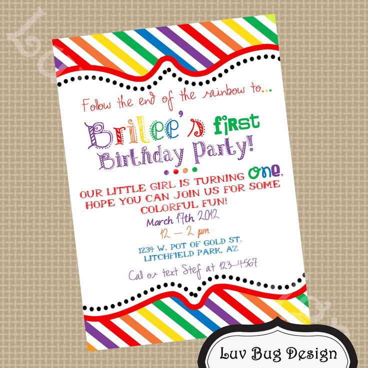 party invitations | ... Party Invite- DIY printable party invitation ...