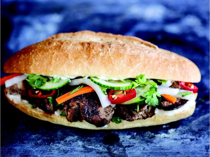 Grilled Lemongrass Pork Banh Mi - from the Banh Mi Handbook - by far ...