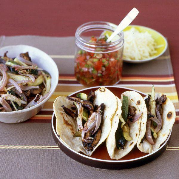 Portobello and Zucchini Tacos Recipe | Food Recipes - Yahoo! Shine