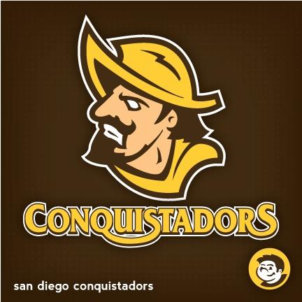 san diego conquistadors - Google Search | sports logos | Pinterest