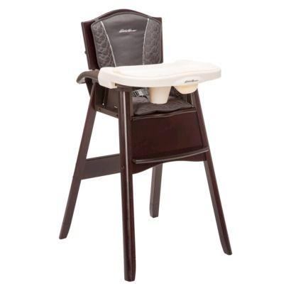 Eddie bauer 174 classic 3 in 1 wood high chair coal creek