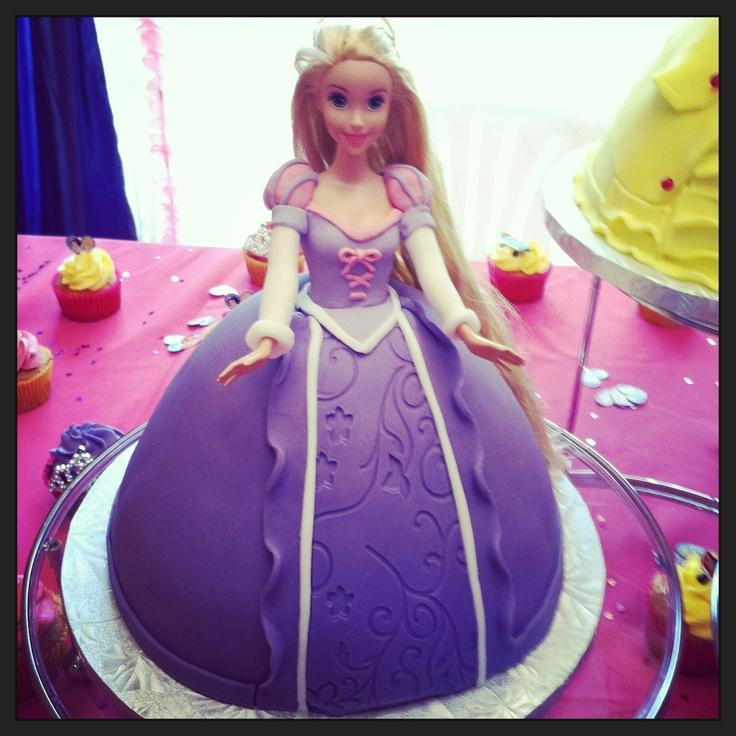 Rapunzel Cake (for nisha) Kensi Birthday Ideas Pinterest