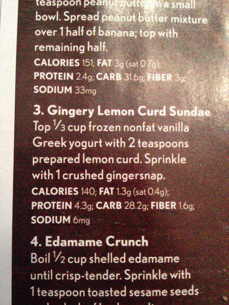 Gingery lemon curd sundae   Sweets & Treats   Pinterest