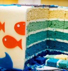 fish theme birthday party - Bing Images
