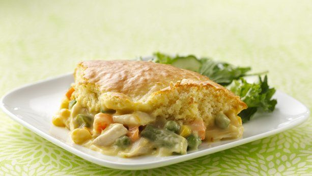 Impossibly Easy Chicken Pot Pie | Main Courses | Pinterest