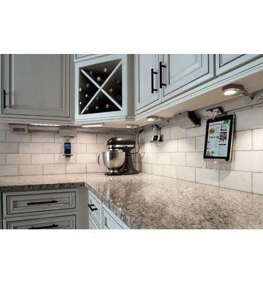 adorne under cabinet lighting system kitchens pinterest. Black Bedroom Furniture Sets. Home Design Ideas