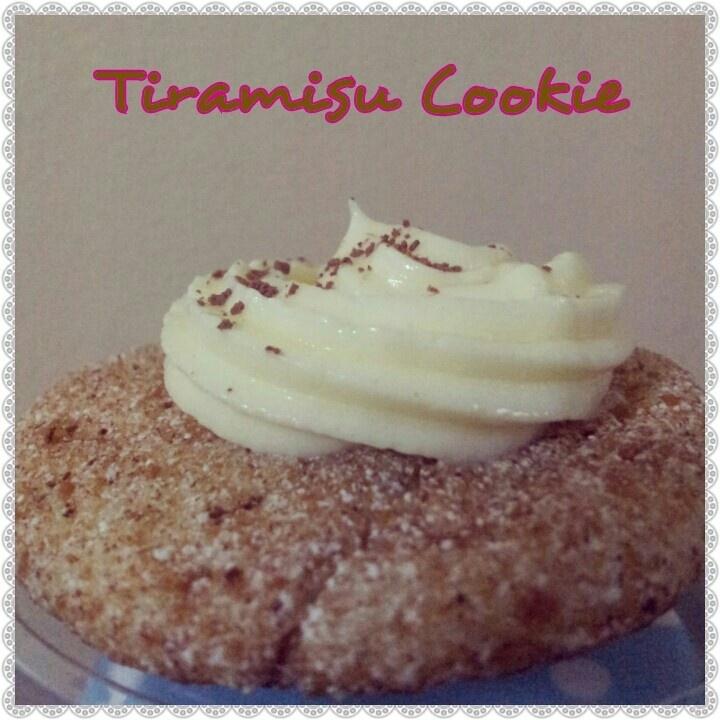 Tiramisu cookie | Yummy Sweets;* | Pinterest