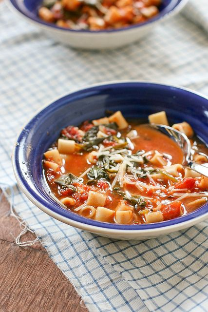 Tomato Florentine Soup by daintychef | Great Food | Pinterest