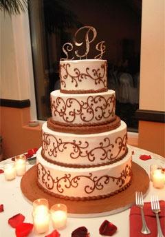 Calico Cake Wedding Cakes | Wedding Cakes | Pinterest