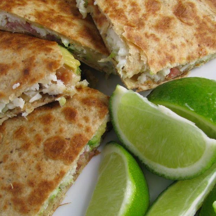 Crab Avocado Quesadillas - Easy Peasy! - JANE #ANNJANEcomingsoon