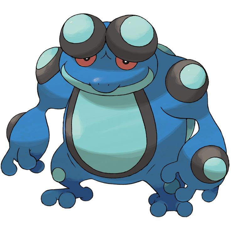 Seismitoad | Water | | Water type pokemon | Pinterest