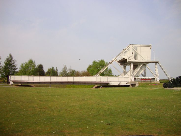d day landing bridge