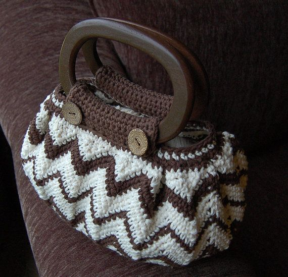 Free Crochet Chevron Purse Pattern : Crochet Pattern: