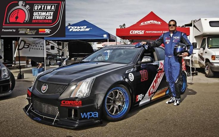 Richard Caleel is headed back to the Optima Ultimate Street Car Invitational at Spring Mountain Motor Resort in his radical CTS-V. Post via @OPTIMA® Batteries