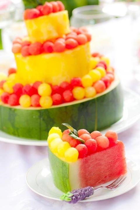 Watermelon cake | Veganlicious | Pinterest