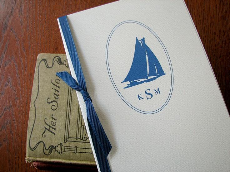 Beyond the Sea Wedding Program