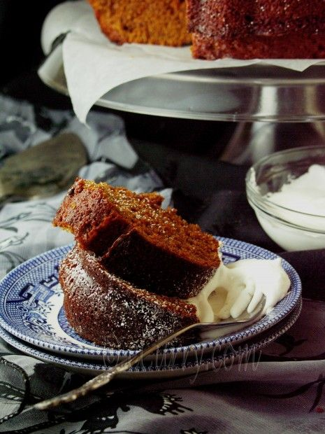 Spiced Ginger Cake | Yummy Sweets! | Pinterest