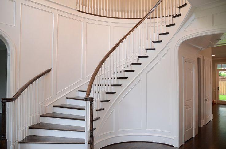 Staircase Georgiancolonial Georgian Colonial House