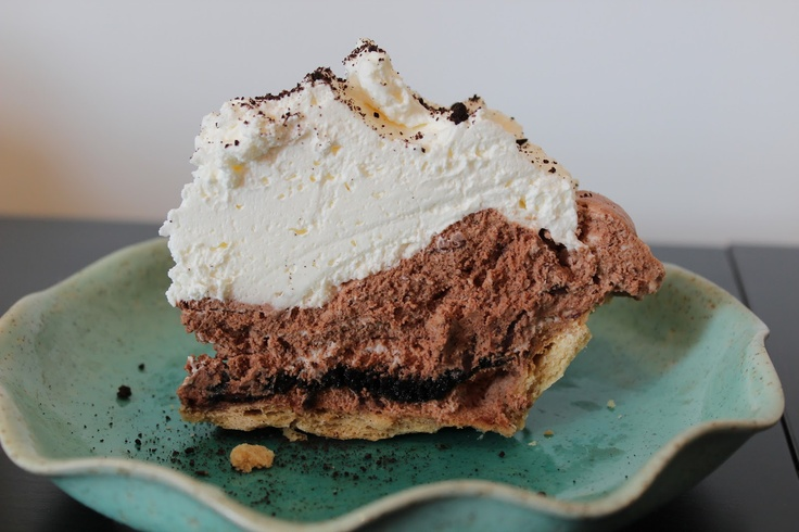 Mile High Chocolate Pie | Le Whisk | Yum! | Pinterest