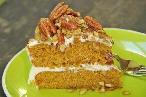 Brown Butter Pumpkin Layer Cake | foodie | Pinterest