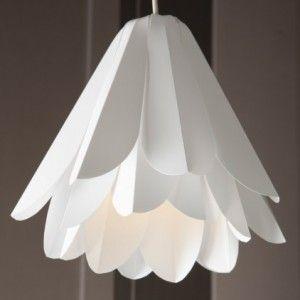 White lamp shade flower shape 143 things things - Flower shaped lamp shades ...