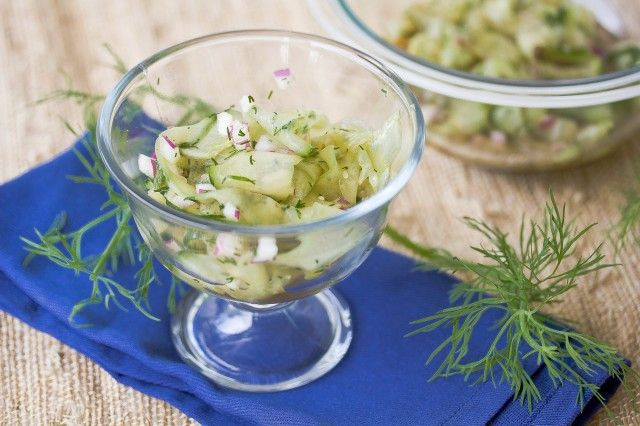 Cucumber Dill Salad | Recipes I Want to Try | Pinterest