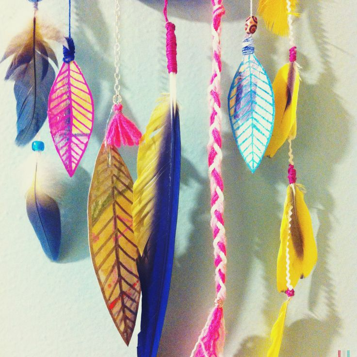 #dreamcatcher #feathers #diy