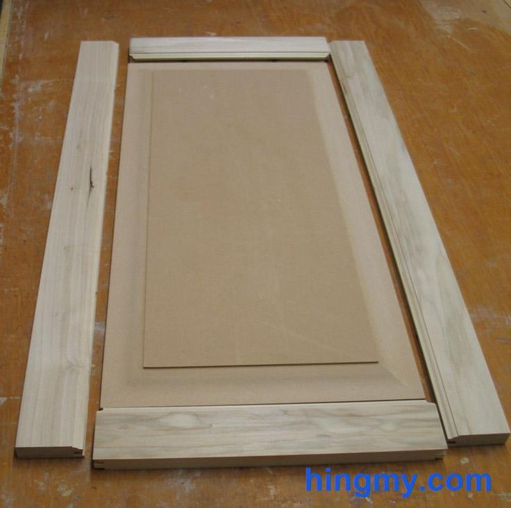 DIY Custom Kitchen Cabinet Doors