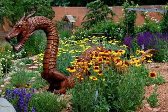 Dragons In The Garden Gardenscapes Pinterest
